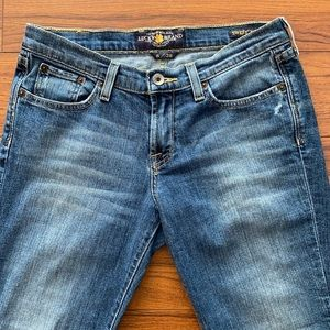 Lucky Brand Sweet N' Low Crop Jeans 6/28